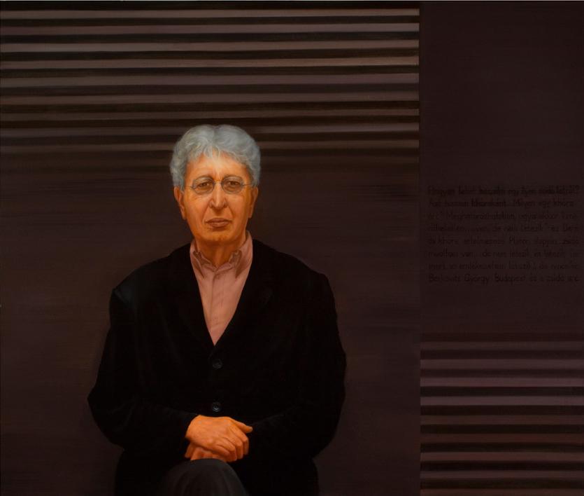 Berkovits György portréja